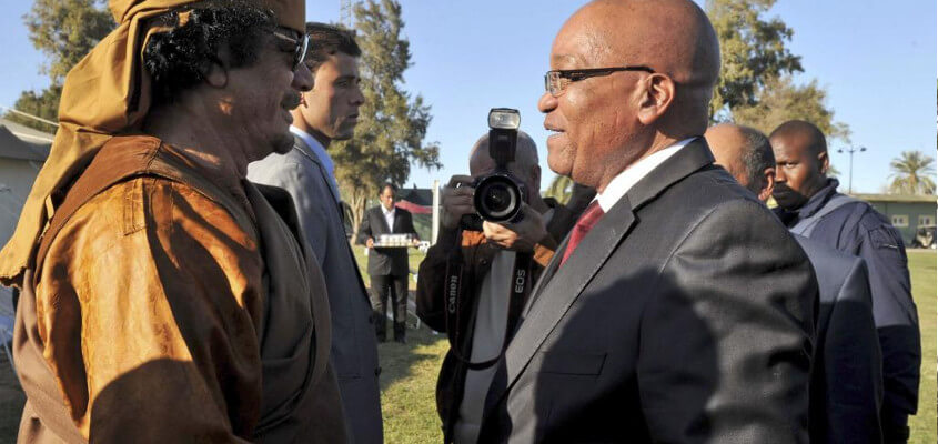 South African President Attacks United Nations Over War Against Libya