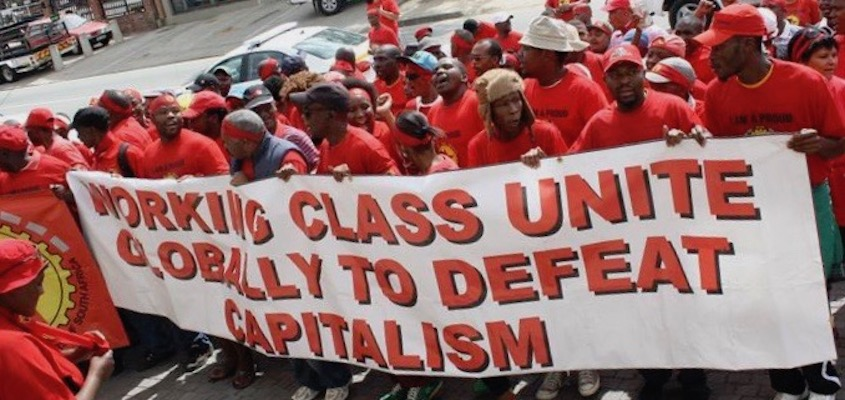 In South Africa, channelizing Marx Towards Building a United Front