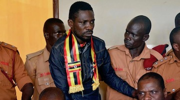 Ugandan Police Beating of Bobi Wine is Sign of Desperation