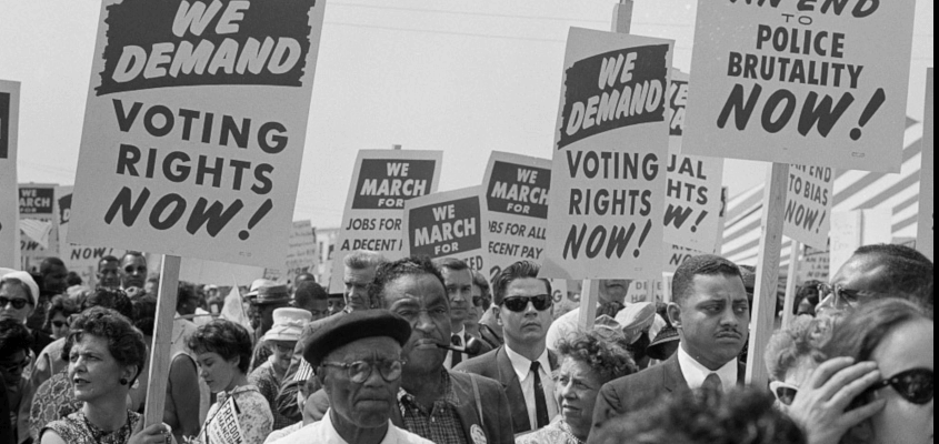60s voting rights march
