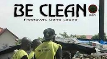 "Pan Africanists Lead ""Be Clean"" Campaign in Sierra Leone"