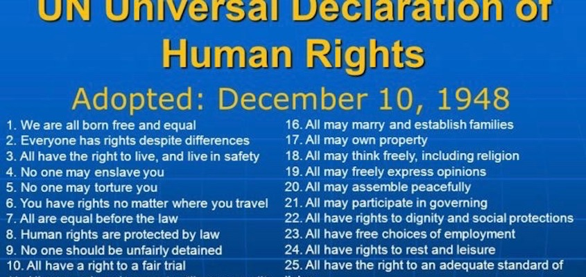 The Universal Declaration of Human Rights at 70: Time to De-Colonize Human Rights!