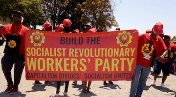 "New South African Party to ""Overthrow Capitalism"""