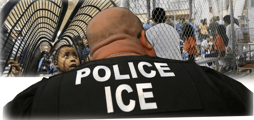 ICE custody for children