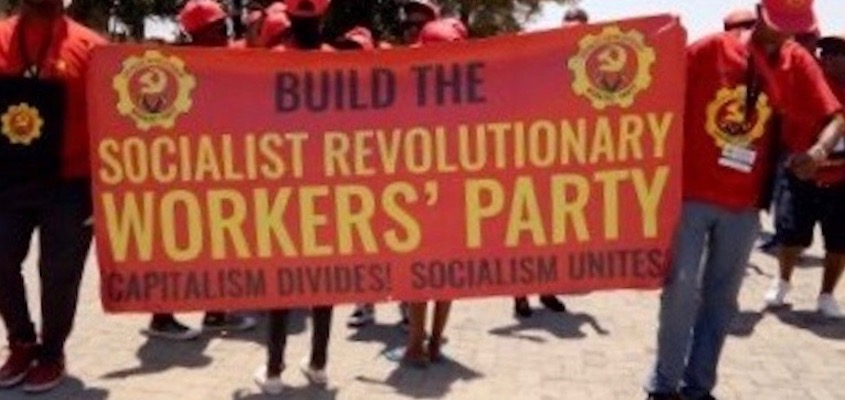 Socialist Revolutionary Workers Party launched in South Africa