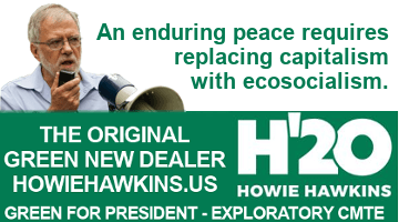 The Real Peace Candidate for 2020 Isn't Tulsi Gabbard, It's Howie Hawkins