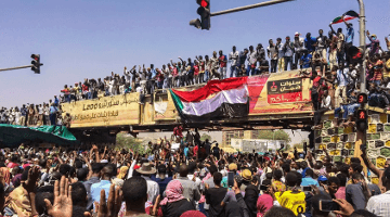 manufactured revolution in Sudan
