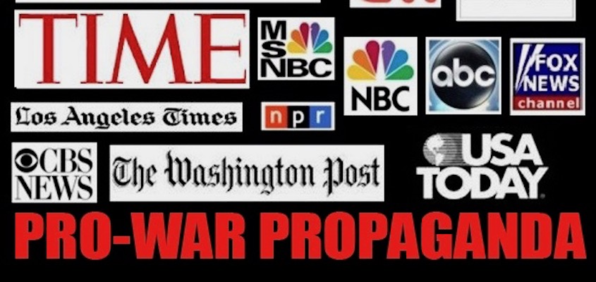 "The Corporate Media and the ""Resistance"" to Peace"