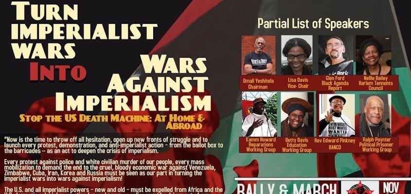 History Demands: Turn Imperialist Wars Into Wars Against Imperialism