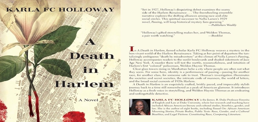 "BAR Book Forum: Karla Holloway's ""A Death in Harlem"""
