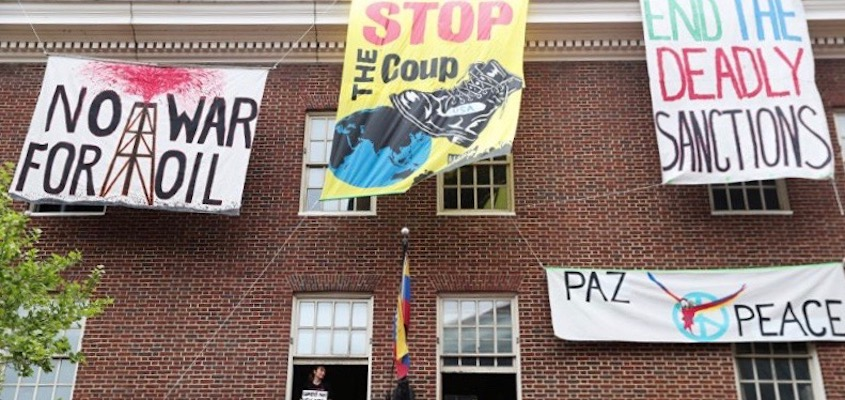 Grayzone Editor Arrested on Trumped Up Venezuela Embassy Charges