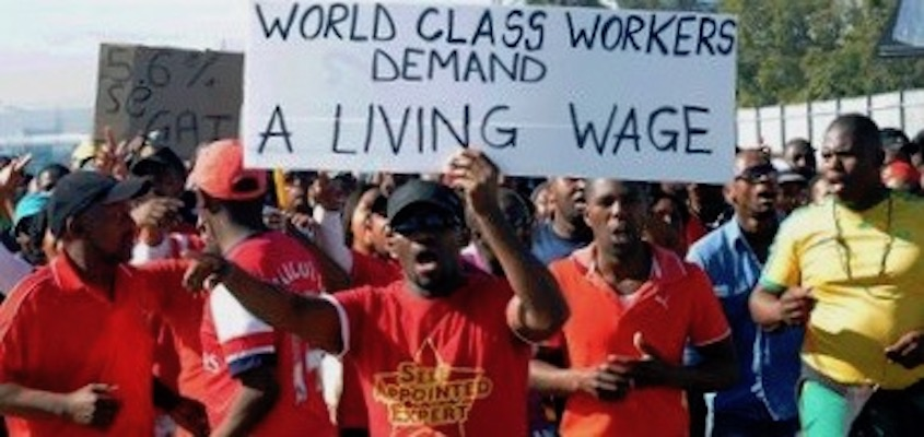 The Global Uprising Against Poverty Wages