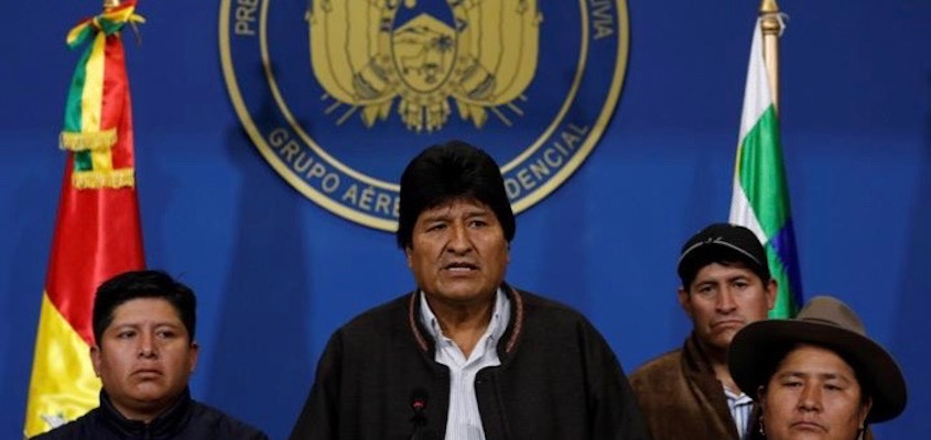 Freedom Rider: Hybrid Warfare in Bolivia and Beyond