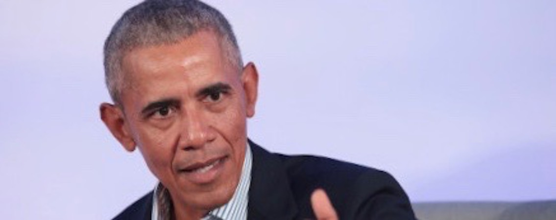 "Obama Condemns ""Call Out Culture"" Despite Being Its Biggest Beneficiary"