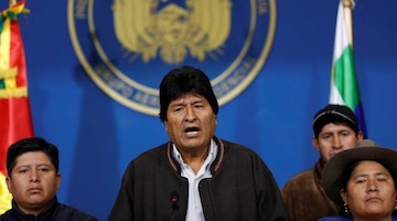 Coup in Bolivia Rejected Worldwide