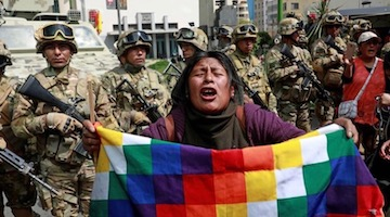 How the Global North's 'Left' Media Helped Paved the Way for Bolivia's Right-Wing Coup