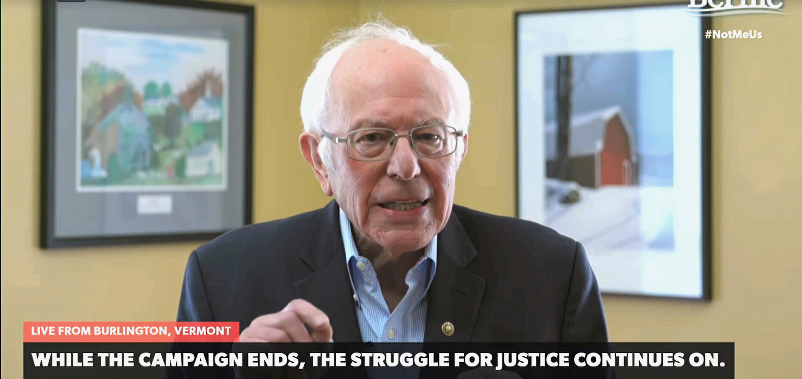 The End of Sanders, and Maybe the Beginning of a Mass Independent Left