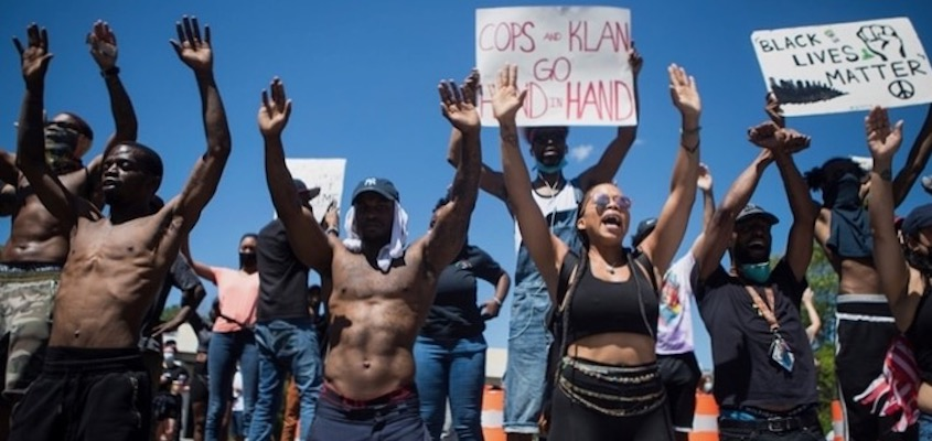 Police Kill. We March. Why?