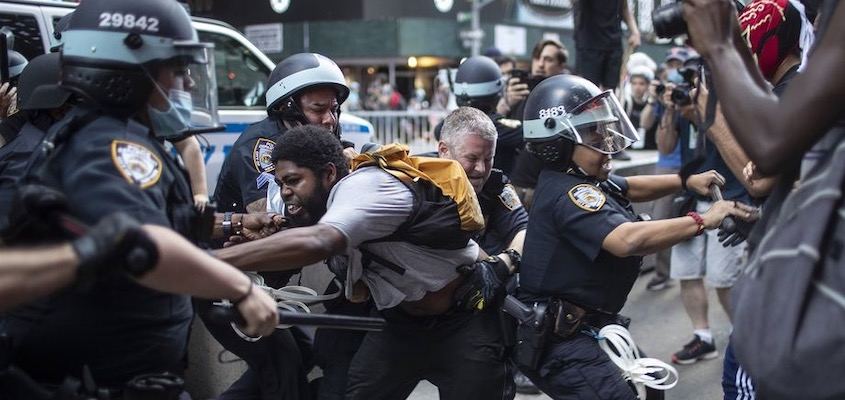 The NYPD Unleashes Its Most Brutal Cops On Protesters