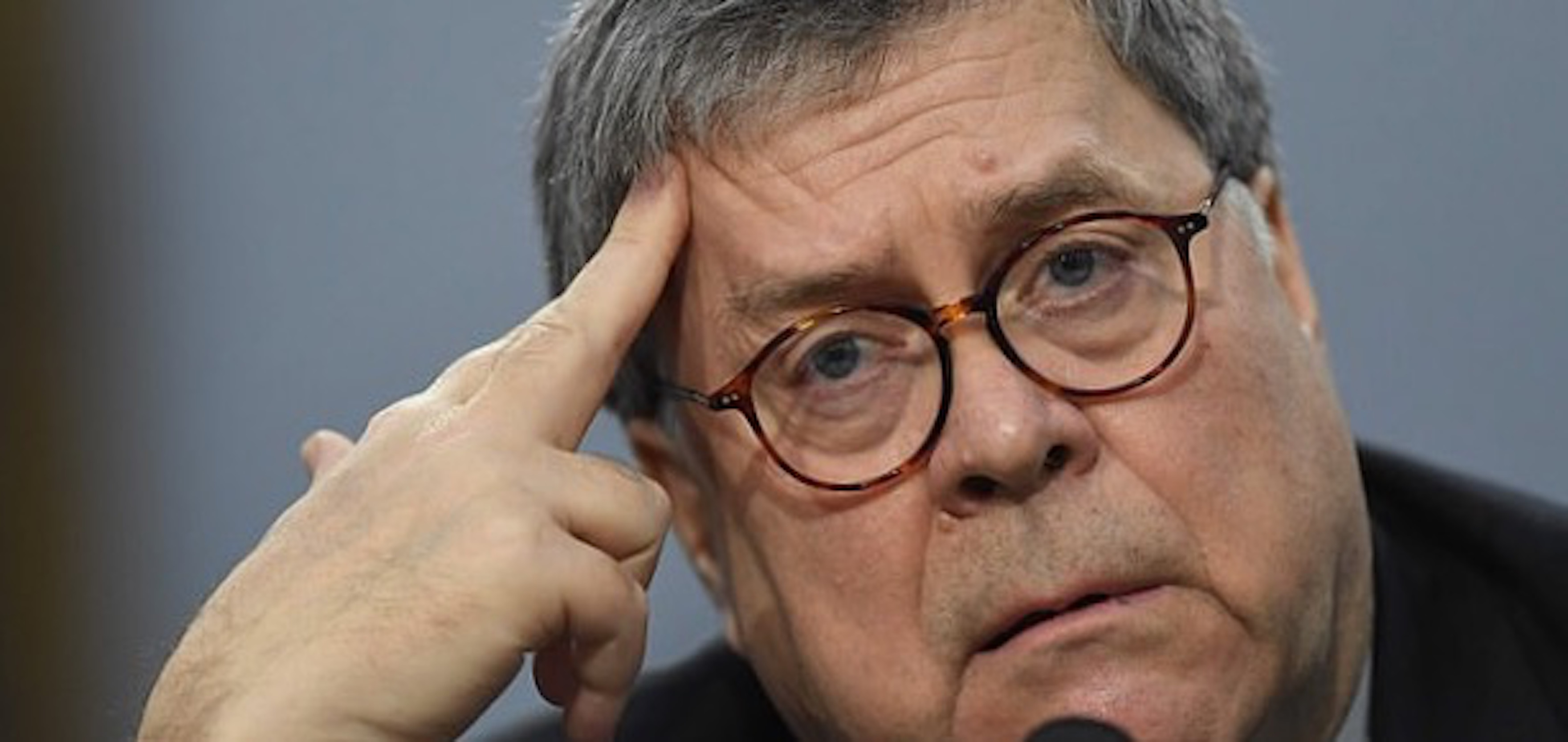 Lawless low Barr's depths of depravity