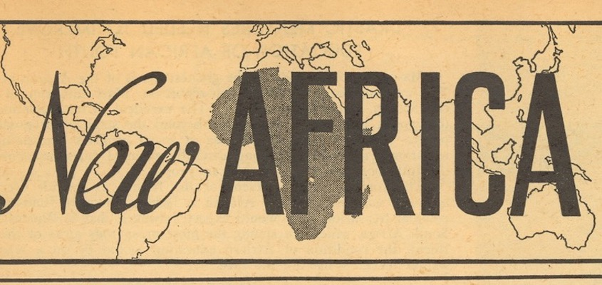 PAMPHLET: Africa Fights for Freedom, Alpheaus Hunton, 1950