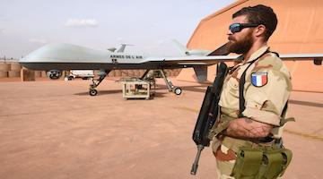Drones in the Sahara