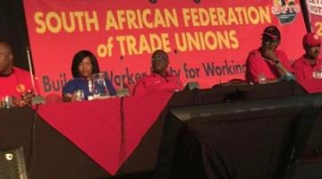 "South Africa: Unions Plan General Strike, Denounce ""Sell-Outs"" and ""Rented Stooge"" Ramaphosa"