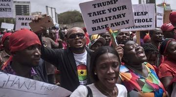 Ghana Opposition Against AFRICOM Deal