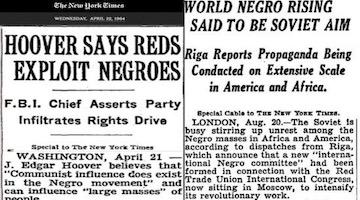 "Bigoted Paternalism Behind ""Russians Targeted African-Americans"" NY Times Article"