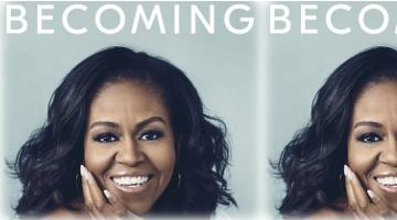 "Michelle Obama's Memoir ""Becoming"" -- Lots of Stories, Few Lessons"