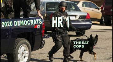 HR 1 Cuts Green Party Campaign Funding, Sics Homeland Security and Political Police on the Left