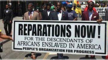 Reparations Now? Maybe In Order To Get The Job Done It's Time to Call It Something Else