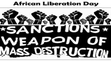 "African Liberation Day Demand: ""End Zimbabwe Sanctions"""