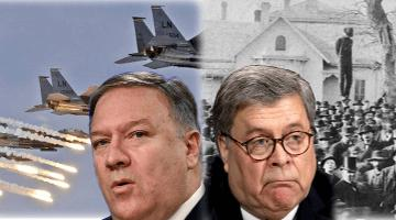 Pompeo and Barr