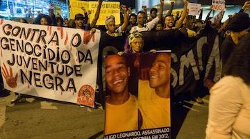 Police Killings of Blacks Explode in Bolsonaro's Brazil