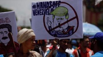 Phony Progressives Follow Trump Lead on Venezuela