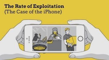 What Apple Steals from Workers: The iPhone Rate of Exploitation