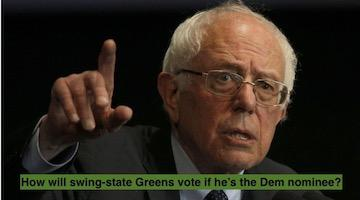 Safe-States Strategy from Hell: Greens Respond to Progressive Left Dems
