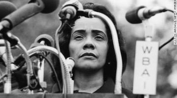 In Anti-Communist Fervor, FBI Built a 500-Page File on Coretta Scott King