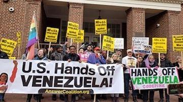 Embassy Activists Face Prison in Trial Based on Trump Venezuela Fantasy