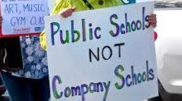 How Corporations Are Forcing Their Way Into America's Public Schools