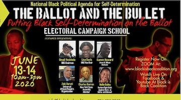 "Back Is Back Coalition's ""Ballot and the Bulllet"" Electoral School"