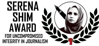 BAR Editors Receive Serena Shim Award