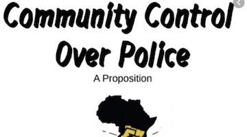 Police Must Answer to the Community