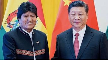 China and US relations in Latin America